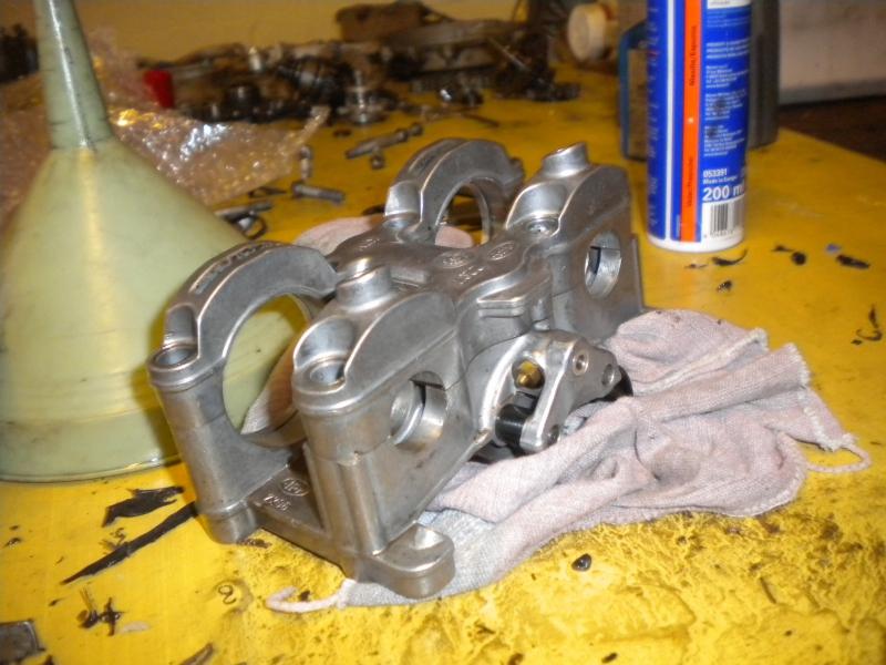 KTM 250 SXF 2006 - Partie moteur, support d'arbre à came