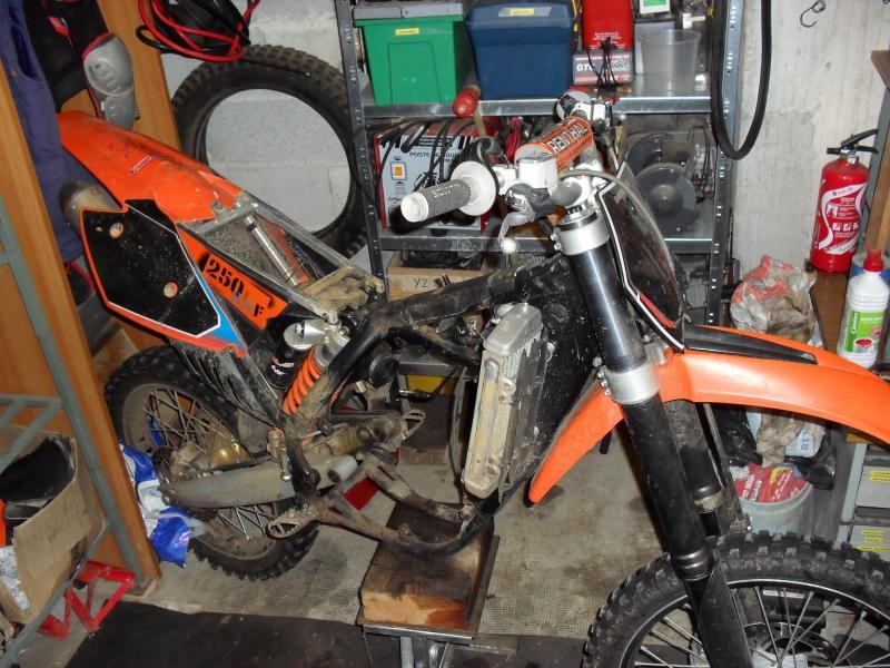 KTM 250 SXF 2006 - Partie cycle